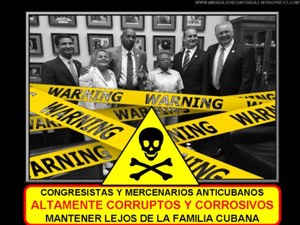 Congresistas peligrosos