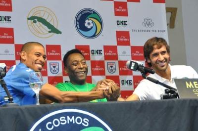 Raúl, Pelé y Márquez