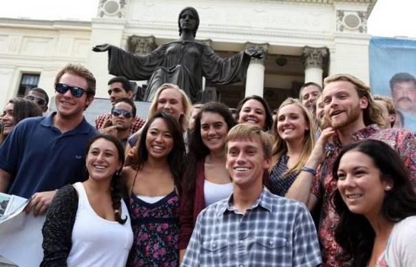 Estudiantes EEUU en Cuba