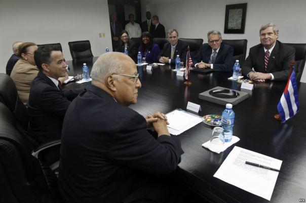 Thomas Vilsack, Secretario de Agricultura de Estados Unidos visita Cuba 2